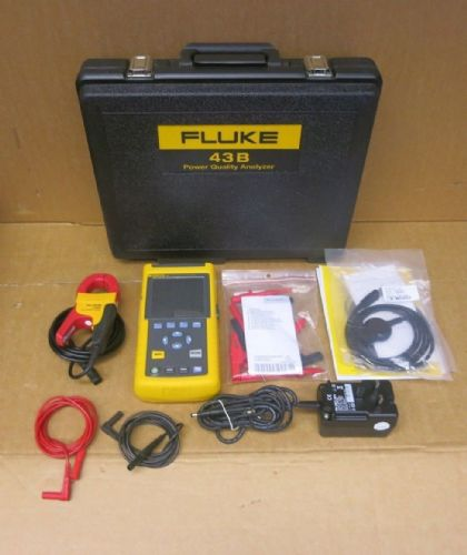 Fluke 43B Single Phase Power Quality Analyzer Set With Fluke i400s AC Clamp